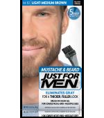 GEL COLORANTE DE PEINADO JUST FOR MEN® PARA BIGOTE, BARBA Y PATILLAS (Luz marrón medio) M30