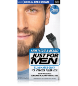 GEL COLORANTE DE PEINADO JUST FOR MEN® PARA BIGOTE, BARBA Y PATILLAS (Medio - marrón oscuro) M40
